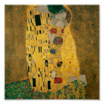 Gustav Klimt // The Kiss // Der Kuss Poster