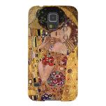 Gustav Klimt: The Kiss (Detail)