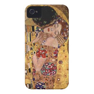 Gustav Klimt: The Kiss (Detail) iPhone 4 Covers