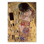Gustav Klimt ~ the Kiss Greeting Card