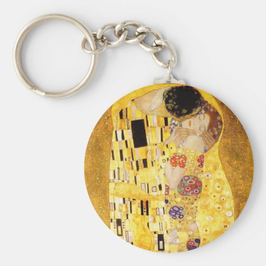 Gustav Klimt The Kiss Key Chain