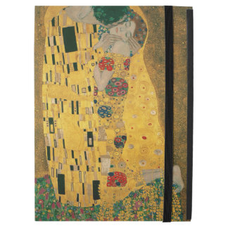 "Gustav Klimt The Kiss (Lovers) GalleryHD Vintage iPad Pro 12.9"" Case"