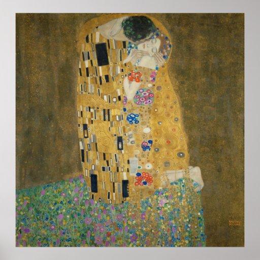 Gustav Klimt - The Kiss Posters