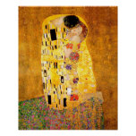 "Gustav Klimt ""The Kiss"" Poster"