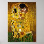 Gustav Klimt - The Kiss Poster