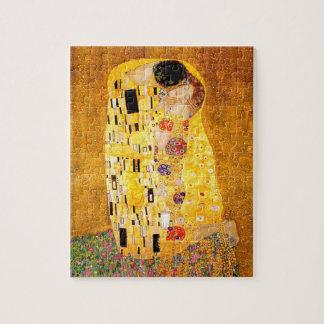 "Gustav Klimt ""The Kiss"" Puzzles"