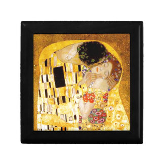 Gustav Klimt The Kiss Small Square Gift Box