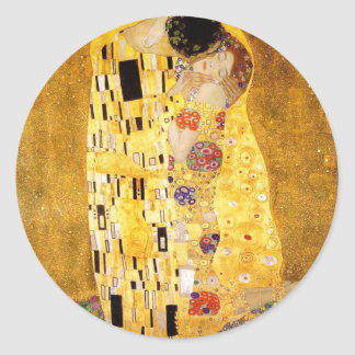 Gustav Klimt The Kiss Stickers