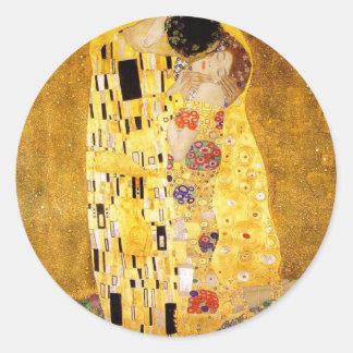Gustav Klimt The Kiss Stickers