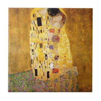 Gustav Klimt The Kiss Tile
