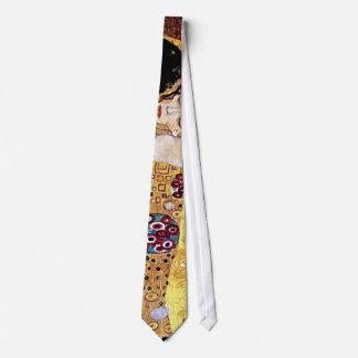 Gustav Klimt - The Kiss Vintage Art Nouveau Lovers Tie