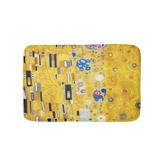 Gustav Klimt The Kiss Vintage Art Nouveau Painting Bath Mat