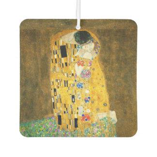 Gustav Klimt The Kiss Vintage Art Nouveau Painting Car Air Freshener