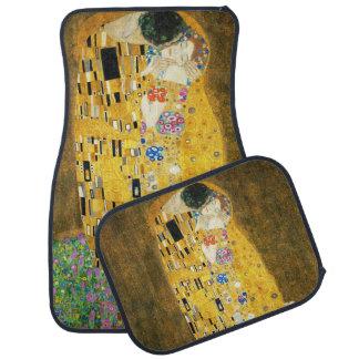 Gustav Klimt The Kiss Vintage Art Nouveau Painting Car Mat