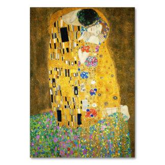 Gustav Klimt The Kiss Vintage Art Nouveau Painting Card