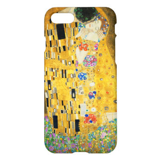 Gustav Klimt The Kiss Vintage Art Nouveau Painting iPhone 7 Case
