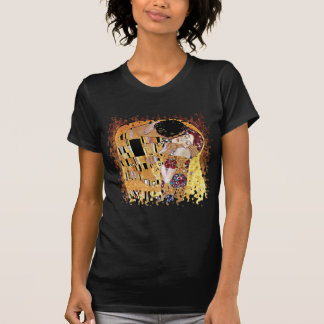 Gustav Klimt - The Kiss - Vintage Art Nouveau T-Shirt