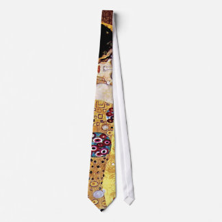 Gustav Klimt - The Kiss - Vintage Art Nouveau Tie