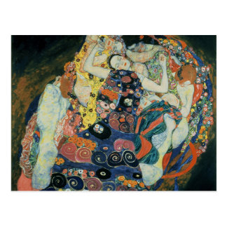 "Gustav Klimt : ""the Maiden"" Postcard"