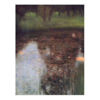 Gustav Klimt- The Swamp Postcard