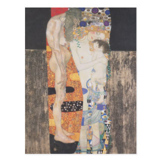 Gustav Klimt- The Three Ages of Woman Postcard