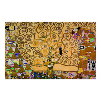 Gustav Klimt 'The Tree Of Life' Poster