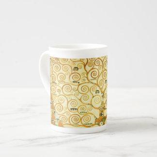 Gustav Klimt The Tree Of Life Vintage Art Nouveau Bone China Mug