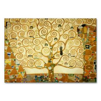 Gustav Klimt The Tree Of Life Vintage Art Nouveau Card