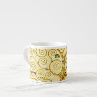 Gustav Klimt The Tree Of Life Vintage Art Nouveau Espresso Mug