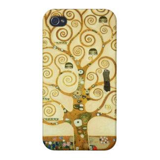 Gustav Klimt The Tree Of Life Vintage Art Nouveau iPhone 4 Case