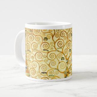 Gustav Klimt The Tree Of Life Vintage Art Nouveau Jumbo Mug