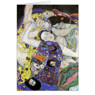 Gustav Klimt - The Virgin Oil Card