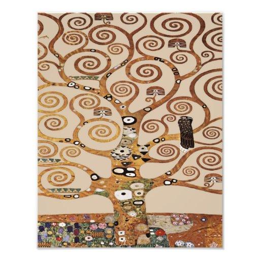 "Gustav Klimt ""Tree of Life"" 1909 Repro Kabbalah Photographic Print"