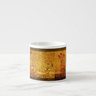 Gustav Klimt Tree of Life Art Nouveau Espresso Mug