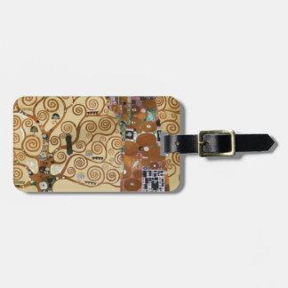 Gustav Klimt Tree Of Life Bag Tag