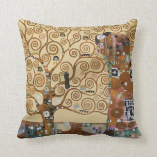 Gustav Klimt Tree Of Life Cushion