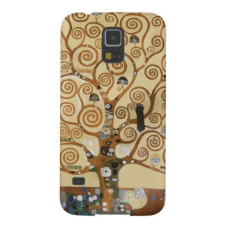 Gustav Klimt Tree Of Life Galaxy S5 Cases