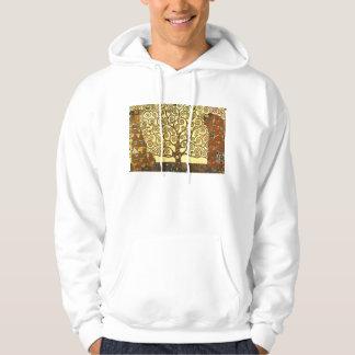 Gustav Klimt Tree of Life Hoodie