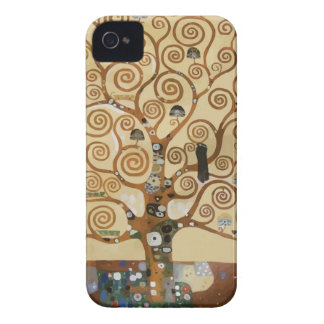 Gustav Klimt Tree Of Life iPhone 4 Covers
