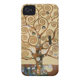 Gustav Klimt Tree Of Life iPhone 4 Covers