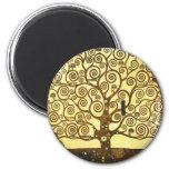Gustav Klimt Tree of Life Magnet