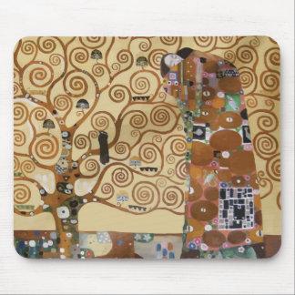 Gustav Klimt Tree Of Life Mouse Mat