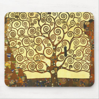 Gustav Klimt Tree of Life Mouse Pad