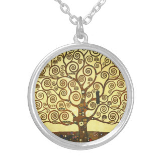 Gustav Klimt Tree of Life Necklace