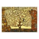 Gustav Klimt Tree of Life Note Card