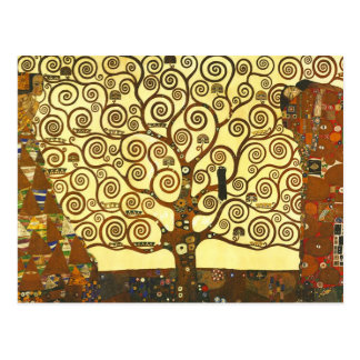 Gustav Klimt Tree of Life Postcard