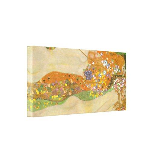 Gustav Klimt - Water snakes (friends) II Canvas
