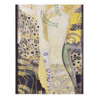 Gustav Klimt- Watersnakes Postcard