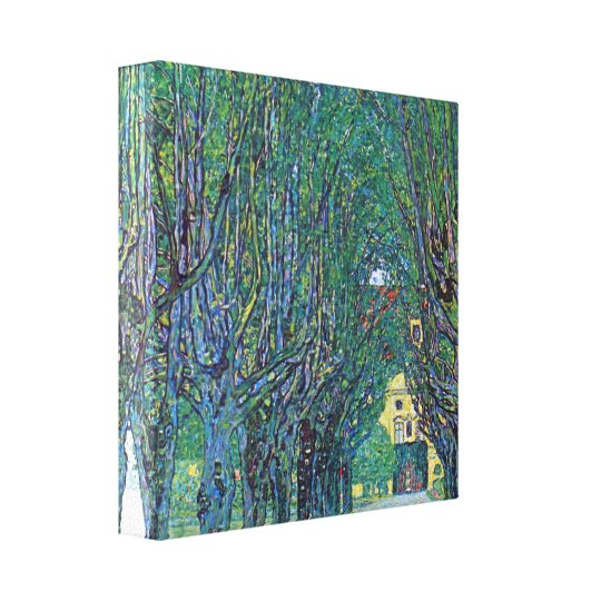Gustav Klimt - Way to the Park Canvas