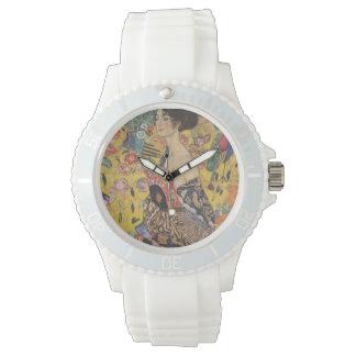 Gustav Klimt - Woman with fan Wristwatch